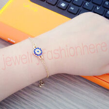 Women fashion Jewelry Lucky Evil Eye charm Beads Chain Hamsa protection Bracelet