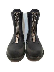 Frye Zip Rain Boots Waterproof Booties Snow Classic Vintage Combat. Size 7