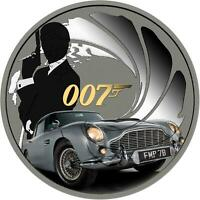 Tuvalu 2020 1$ - James Bond 007 - 007 - 1 Oz Silbermünze