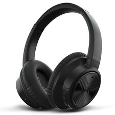 TREBLAB E3 - Active Noise Cancelling Over-Ear Wireless Headphones,Ultra-HD Sound