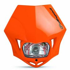 New Polisport MMX Headlight Enduro Road Legal Orange KTM Powerparts EXC EXC-F
