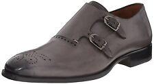 Mezlan Men's Gris Monk Strap Shoes
