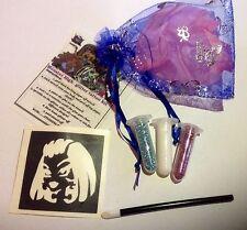 Mini Brillo Tattoo Kit Partido Bolsa Rellenos Monster High 2 brilla 1midi esténcil