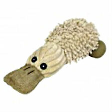 PetLou Natural Twisted Platypus 6 in Dog Toy NEW Chew Sisal No Dyes Puppy Fetch