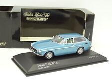 Minichamps 1/43 - VOLVO P1800 ES Bleu métal