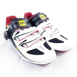 Mavic Ergoride Carbon Cycling Men's Shoes Black / White - 38 2/3  sz 6 US 643001