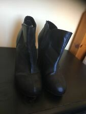 Madden Girl Steve Madden Black Ankle Boots Heels UK 6