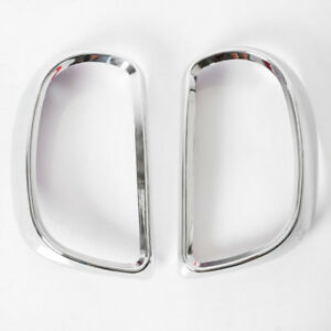 Chrome Cover Taillight Trims Fit Nissan Micra K13 March 2012-2014