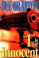 I is for Innocent: A Kinsey Millhone Novel (Kinsey Millhone Alphabet Mysteries