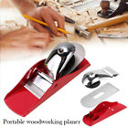 Adjustable Small Hand Hobby Block Plane Planing Blade Cut Smoothing Wood Timber