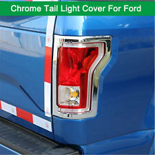High Quality Chrome Taillight Tail Light Covers For Ford F150 2015-2019