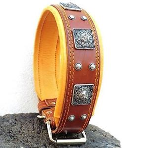 Bestia genuine leather dog collar, Large breeds, cane corso, Rottweiler, Boxer,