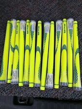 13 Brand New Golf Pride NIION Yellow (blue Fill) Golf Grips Standard 60 Round