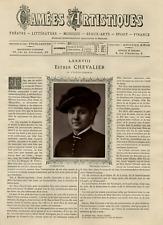 Goupil, France, Camées Artistiques, Esther Chevalier vintage print Photoglypti