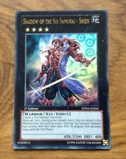Yugioh Shadow of the Six samurai - Shien, SDWA-EN041, Ultra Rare, 1st Edition