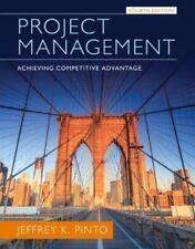 Project Management: Achieving Competitive Advantage 4e Global Edition