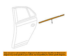 VOLKSWAGEN OEM Jetta Rear Door Belt Molding Weatherstrip Right 5C6-839-478-A-5AP