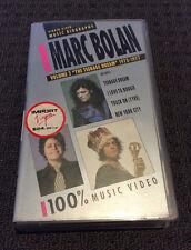 MARC BOLAN - Vol 2 The Teenage Dream 73-77 VHS Video PAL VG RARE!!!!