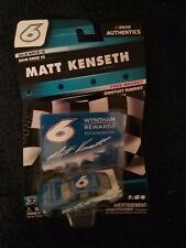 NASCAR AUTHENTICS 2018 Wave 10  MATT KENSETH #6 Wyndham Rewards, New