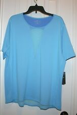 Nike Dri-Fit Zonal Cooling Short Sleeve Top , Blue, 1X, NWT