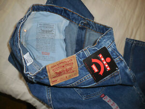 VINTAGE LEVIS 560 LOOSE FIT DENIM BLUE JEANS PANTS 38X32 NWT USA MADE 1994 DATED