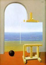 Tela Canvas Magritte cod 40 cm.70x100 Stampa Printing Digital Art papiarte