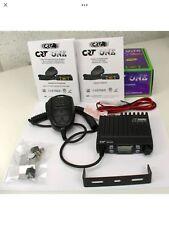 CB MOBILE RADIO CRT ONE MULTISTANDART AM FM COMPACT UK 40 CHANNELS