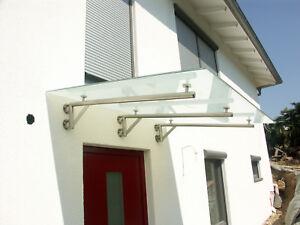 Edelstahl Vordachkonsole Vordach Träger Vordachhalter Türvordach für Glas Massiv