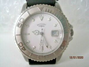 ROTARY Stainless Steel Gents Quartz Professional Divers Watch