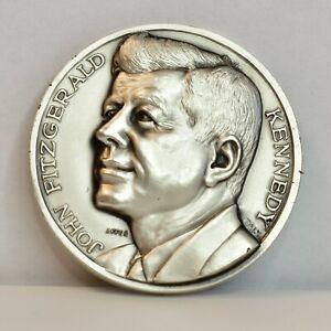 "3D John F Kennedy 1961 Inauguration Medal 2"""