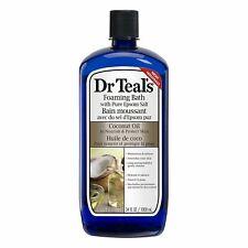 Dr. Teals Coconut Oil Foaming Bath Moisturizes w/ Pure Epsom Salt, 34oz, 1 Pack