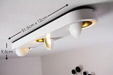 Plafonnier Design LED Lampe à suspension Lustre Éclairage de salon Blanc 128774
