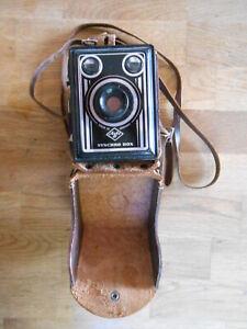 Agfa SynchroBox Kamera - kamera  - mit Lederbox - Etui