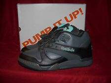 Reebok Court Victory PUMP CHANG Tennis Shoes Black Tar Blue Size 9 US NIB!