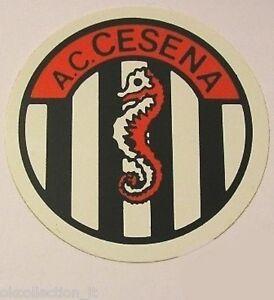 ADESIVO ORIGINALE anni '80 _ A.C. CESENA Calcio (cm 9) Old Sticker Vintage