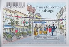 Andorra 2012 - Art Building and Architecture Folk Dancing S/S - MNH