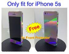 iPhone 5s  * RAINBOW *   Vinyl Sticker for i5s Full Body Vinyl Decal Skin
