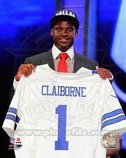 2012 Dallas Cowboys MORRIS CLAIBORNE Glossy 8x10 Photo NFL Draft Day Print