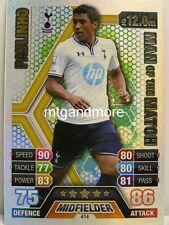 Match Attax 2013/14 Premier League - #414 Paulinho - Man of the Match