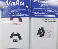 Yahu Modelos YMA4809 1/48 PE Macchi C.202 temprano Panel de Instrumentos Hasegawa