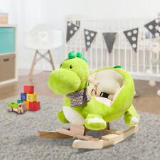 Kinder Schaukeltier Schaukelpferd Plüsch Schaukelspielzeig Wippe Spielzeug Baby