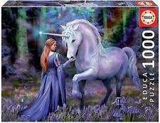 Educa Borras - Anne Stokes Series, Puzzle 1,000 Pieces Bluebell Woods (18494)