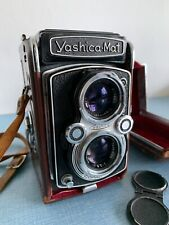 Yashica-Mat MF TLR 120 Vintage Camera • Working Good Condition • Cap & Case