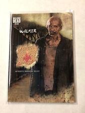 2018 Topps WALKING DEAD #WR-3 WALKER Wardrobe Relics Card