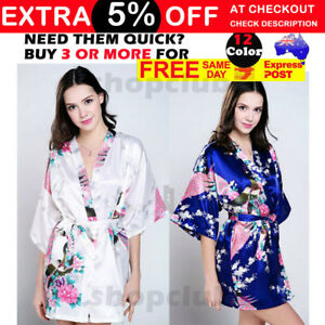 HIGH QUALITY Floral Wedding Bridal Party Robes Bride Robe Bridesmaid Dress Gown