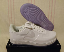 70fcc1c0c5561 Nike Air Force 1 AF1 Low Foamposite Pro Cup White Ice AJ3664 100 Size 10.5