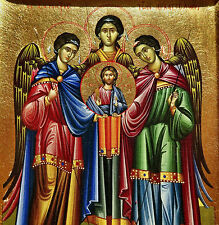 Ikone ERZENGEL Versammlung Engel Icon Angel Ikona Icone orthodox Icoon Icono