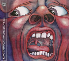 King Crimson-In the Court of the Crimson King  (UK IMPORT)  CD with DVD NEW