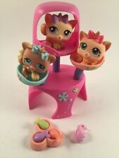Littlest Pet Shop Triplets Kitten Petriplets 1335 1336 1337 Condo/Dish/Fish