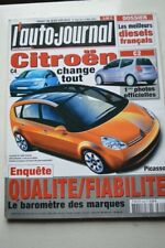 AUTO JOURNAL 620 OPEL ROADSTER SMART FORFOUR C3 CLK A4 OCTAVIA MICRA ACCORD 2003
